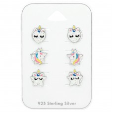 Unicorn - 925 Sterling Silver Jewellery sets for kids A4S38726