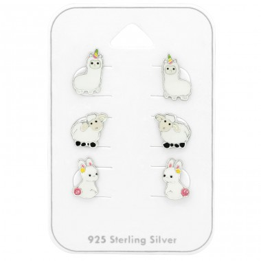 Animal - 925 Sterling Silver Jewellery sets for kids A4S38728