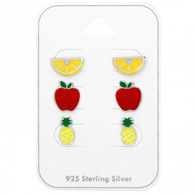 Fruit - 925 Sterling Silver Jewellery sets for kids A4S38730