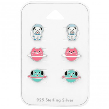 Animal Planet - 925 Sterling Silver Jewellery sets for kids A4S38731