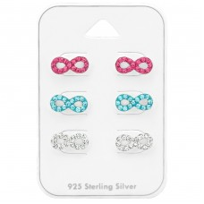 Infinity - 925 Sterling Silver Jewellery sets for kids A4S38733