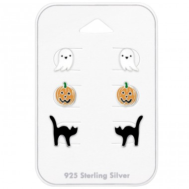 Halloween - 925 Sterling Silver Jewellery sets for kids A4S39267