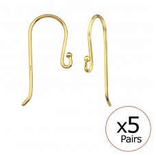 Fish Hook - 925 Sterling Silver Silver jewelry accessories A4S32673