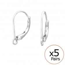 Leverback - 925 Sterling Silver Silver jewelry accessories A4S32679