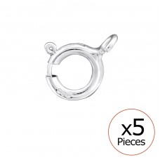 C-Lock - 925 Sterling Silver Silver jewelry accessories A4S32687