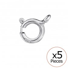 C-Lock - 925 Sterling Silver Silver jewelry accessories A4S32688