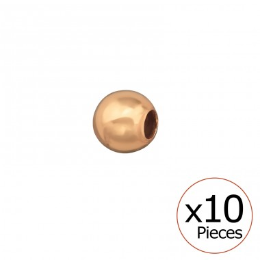 3mm Ball Bead - 925 Sterling Silver Silver jewelry accessories A4S32711