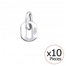 925 Tag - 925 Sterling Silver Silver jewelry accessories A4S32712