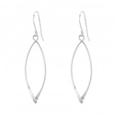 Open Earrings For Beads - 925 Sterling Silver Silver jewelry accessories A4S33305