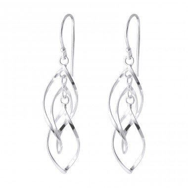 Seed - 925 Sterling Silver Silver Heavy A4S1246