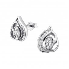 Leaf - 925 Sterling Silver Silver Heavy A4S21215