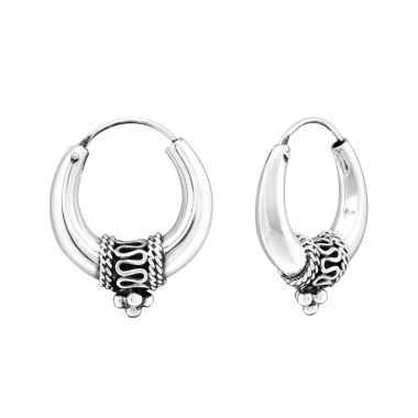 20mm Bail - 925 Sterling Silver Silver Heavy A4S39903
