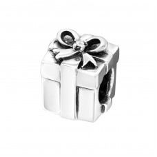 Gift Present - 925 Sterling Silver Beads with Zirconia or Crystal A4S6023