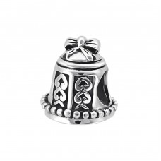Bell - 925 Sterling Silver Beads without stones A4S10117