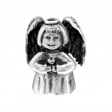Angel - 925 Sterling Silver Beads without stones A4S10119
