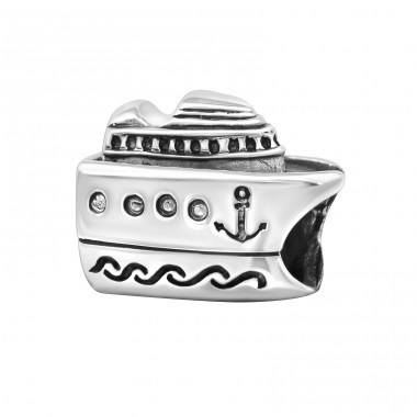 Cruise Ship - 925 Sterling Silver Beads without stones A4S10520