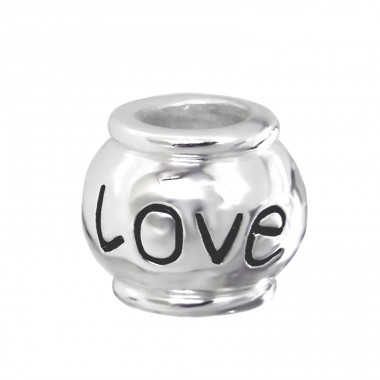 Love - 925 Sterling Silver Beads without stones A4S11051
