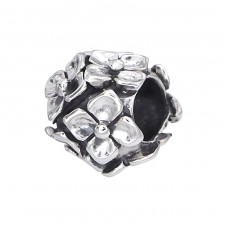 Flower - 925 Sterling Silver Beads without stones A4S11100