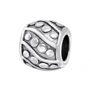 Round - 925 Sterling Silver Beads without stones A4S11108