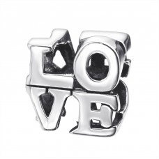 Love - 925 Sterling Silver Beads without stones A4S11188
