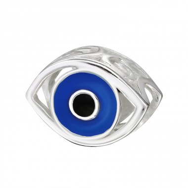 Evil Eye - 925 Sterling Silver Beads without stones A4S11433