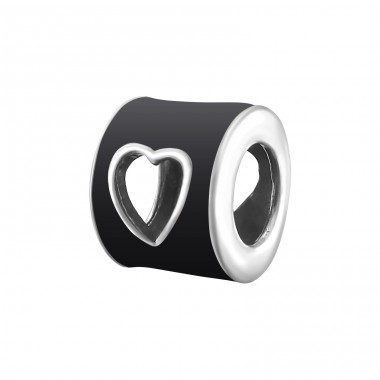Heart - 925 Sterling Silver Beads without stones A4S12764
