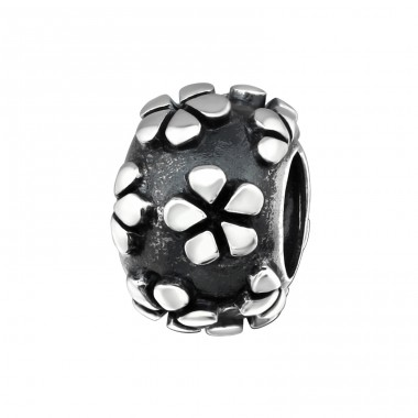 Round - 925 Sterling Silver Beads without stones A4S14000