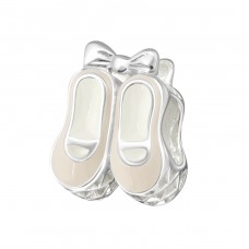 Shoes - 925 Sterling Silver Beads without stones A4S14192