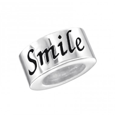 Smile - 925 Sterling Silver Beads without stones A4S14198