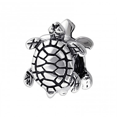Turtle - 925 Sterling Silver Beads without stones A4S14703
