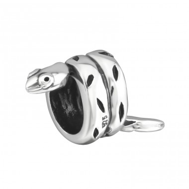 Snake - 925 Sterling Silver Beads without stones A4S14786