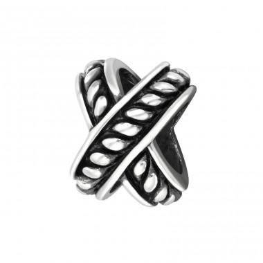 Cross - 925 Sterling Silver Beads without stones A4S14939