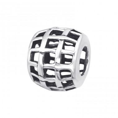 Grid - 925 Sterling Silver Beads without stones A4S14992