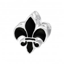 Fleur De Lis - 925 Sterling Silver Beads without stones A4S15737