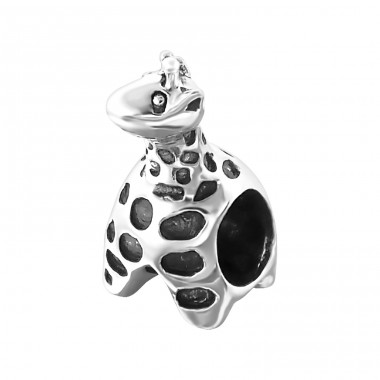 Giraffe - 925 Sterling Silver Beads without stones A4S17230