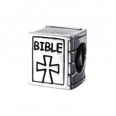 Bible - 925 Sterling Silver Beads without stones A4S17231