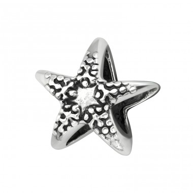 Starfish - 925 Sterling Silver Beads without stones A4S17235