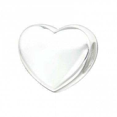 Heart - 925 Sterling Silver Beads without stones A4S18932