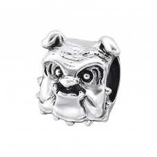 Dog - 925 Sterling Silver Beads without stones A4S19986