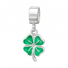 Shamrock - 925 Sterling Silver Beads without stones A4S22267