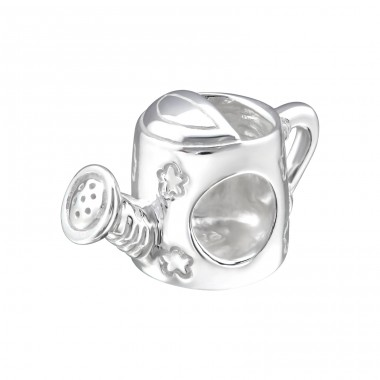 Watering Can - 925 Sterling Silver Beads without stones A4S22695