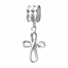 Cross - 925 Sterling Silver Beads without stones A4S23569