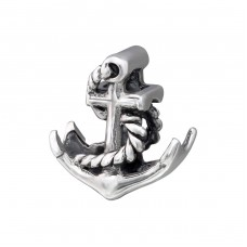 Anchor - 925 Sterling Silver Beads without stones A4S28195