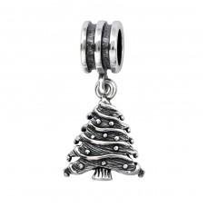 Christmas Tree - 925 Sterling Silver Beads without stones A4S28222