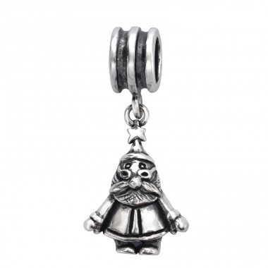 Santa Claus - 925 Sterling Silver Beads without stones A4S28223