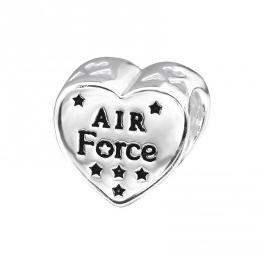 Usa Air Force - 925 Sterling Silver Beads without stones A4S28297