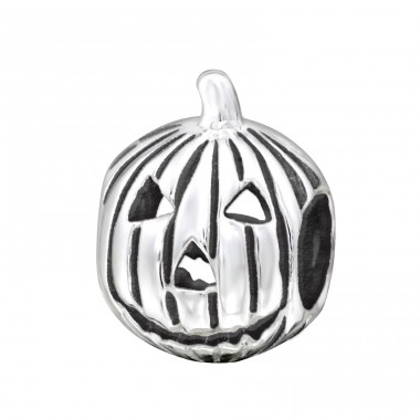 Pumpkin - 925 Sterling Silver Beads without stones A4S2848