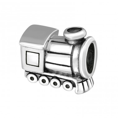 Train - 925 Sterling Silver Beads without stones A4S2875