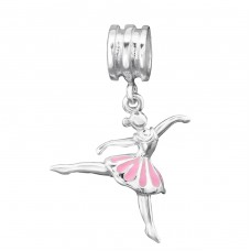 Ballerina - 925 Sterling Silver Beads without stones A4S28866