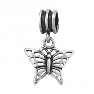 Butterfly - 925 Sterling Silver Beads without stones A4S28917